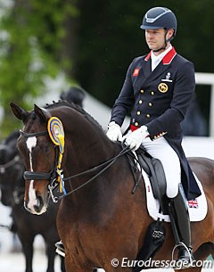 Spencer Wilton and Super Nova won the Grand Prix and Special at the 2017 CDIO Compiegne