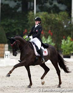 Josefine Hoffmann and Honnerups Driver are only competing at their fourth show together, but they have qualified for the Kur