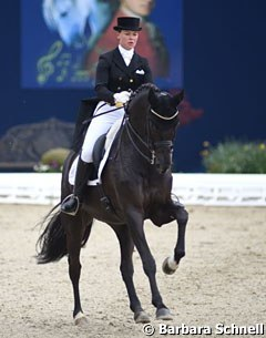 Kira Wulferding on developing PSG horse Soiree d'Amour