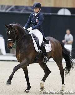 Luxembourg's Alexandra Hidien on Don William (by Don Frederico x Lauries Crusador xx)