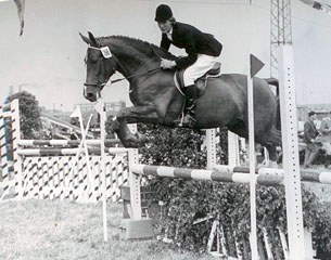 Show jumping was part of the required all round training of a rider in the 1950s