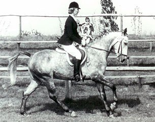 Angelika competing in the 1960s
