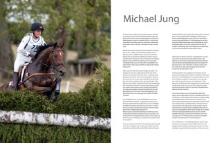 A preview of the book: Profile on Michael Jung, 2010 World Champion Eventing