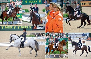 Preview of Dirk Caremans' 2010 World Equestrian Games book: a dressage photo page