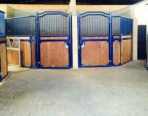 Private barn unit with six stalls for rent at VIB Stables