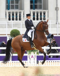 Jessica Michel at the 2012 Olympic Games :: Photo © Astrid Appels