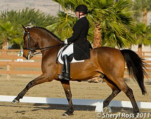 Sheryl Ross and Lancaster at the 2011 CDI Thermal