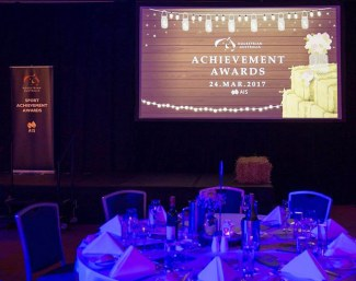The 2017 Equestrian Australia Sport Achievement Awards Gala in Brisbane :: Photo © EA