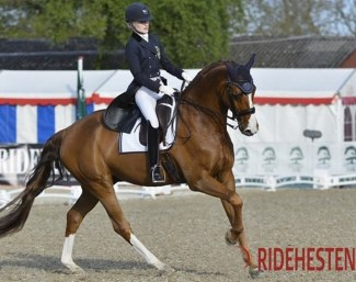 Isabella Tovek and Weltliebe :: Photo © Ridehesten