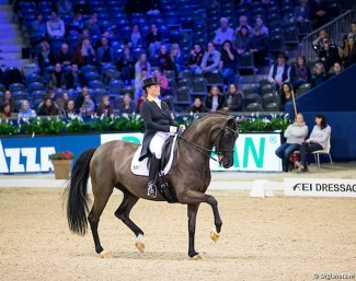 Isabell Werth and Weihegold at the 2018 CDI-W Amsterdam :: Photo © Digishots