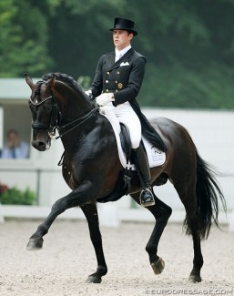 Steffen Frahm and Damsey at the 2013 CDI Rotterdam :: Photo © Astrid Appels