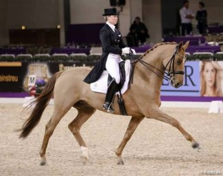 Kira Wulferding and Max-Theurer's Benaglio FH at the 2016 Nurnberger Burgpokal Final :: Photo © LL-foto
