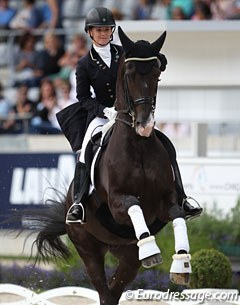 Reynolds and Vancouver K at the 2017 CDIO Aachen :: Photo © Astrid Appels