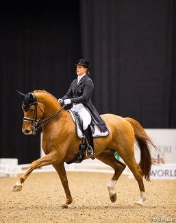Cathrine Dufour and Atterupgaards Cassidy :: Photo © Digishots