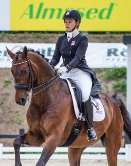 Almased sponsored the 2017 Equitour Aalborg and are title sponsors for the 2018 Almased Dressage Amateurs