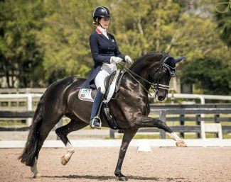 Caroline Roffman and Her Majesty TF :: Photo © Al Guden