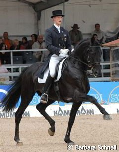 Falk Stankus and Haakon at the 2007 CDN Lingen :: Photo © Barbara Schnell