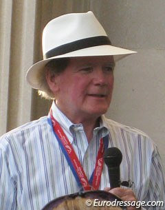 Dr. Pearse Lyons at the 2010 World Equestrian Games :: Photo © Astrid Appels