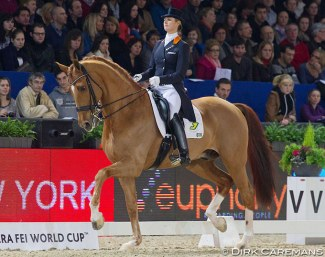 Cornelissen and Parzival were the last winners of the Mechelen World Cup in 2011 :: Photo © Dirk Caremans