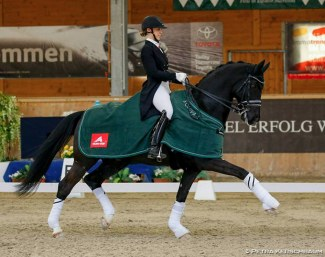 Valenta and Diego win big at the 2018 CDI Wiener Neustadt :: Photo © Petra Kershbaum