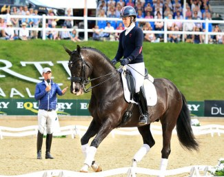 Carl Hester Masterclass at the CDI Bolesworth Interntional Horse Show