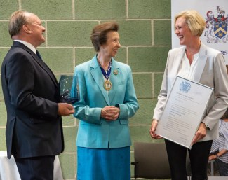 Vanessa Fairfax Receives the Queen's Award for Innovation from Princess Anne