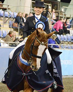 Judy Dierks and Diamond Star at the 2017 CDI Sydney :: Photo © Venhaus