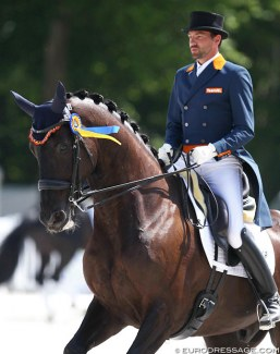 Tommie Visser and Vingino at the 2018 CDIO Compiègne :: Photo © Astrid Appels