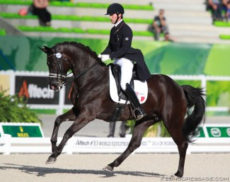 Marc Boblet and Noble Dream at the 2014 World Equestrian Games in Caen :: Photo © Astrid Appels