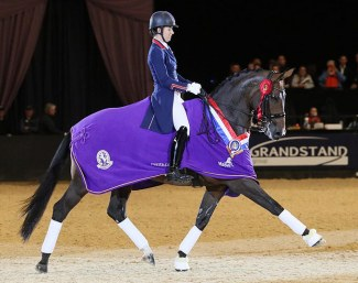 Dujardin and Mount St. John Freestyle at the 2017 HOYS
