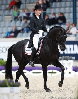 Daniel Bachmann Andersen and Blue Hors Hotline at the 2016 CDIO Aachen :: Photo © Astrid Appels