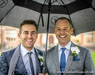Darren Hicks and Spencer Wilton got married ! :: Photo © Leslie Bliss