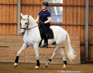 Always work in balance, and use postures that respect the anatomy of the horse :: Photo © Silke Rottermann