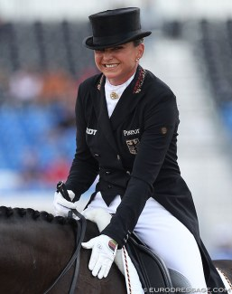 Dorothee Schneider at the 2018 World Equestrian Games :: Photo © Astrid Appels