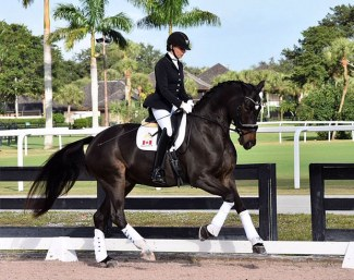 As You Wish, who was ranked in the six-year-old division with Shannon Dueck, a Canadian residing in Loxahatchee, FL :: Photo © Carmen Franco