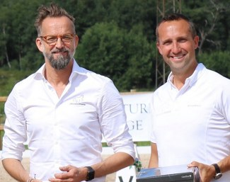 Peter Harnstam and Kristian von Krusenstierna established the Dressage Power Academy :: Photo © private