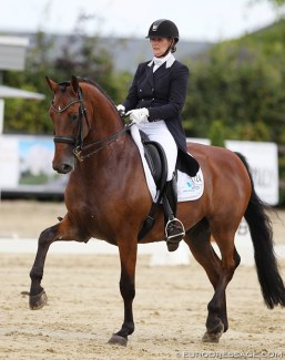 Saskia Maertens and Legend of Loxley at the 2018 CDI Leudelange :: Photo © Astrid Appels