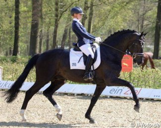 Jessica Lynn Andersson and Secret at the regional show in Dotlingen - April 2019 :: Photo © LL-Foto