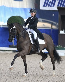 Katrin Burger and Semper Si at the 2019 CDN Pforzheim in March :: Photo courtesy K.Burger