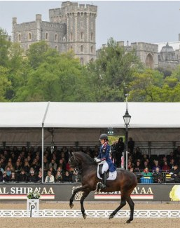 Charlotte Dujardin and Erlentanz at the 2019 CDI Windsor :: Photo © RWHS