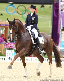 Anabel Balkenhol and Dablino at the 2012 Olympic Games :: Photo © Astrid Appels