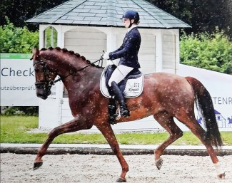 Beatrice Buchenwald and Estero at the 2019 CDN Bettenrode