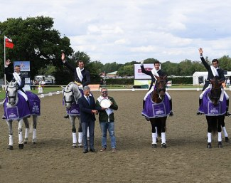 Portugal wins the Nations Cup leg at the 2019 CDIO Hickstead