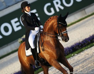 Cathrine Dufour and Atterupgaards Cassidy at the 2019 CDIO Aachen :: Photo © Astrid Appels