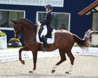 Terhi Stegars and Thai Pee at the 2019 CDI Hagen :: Photo © Astrid Appels