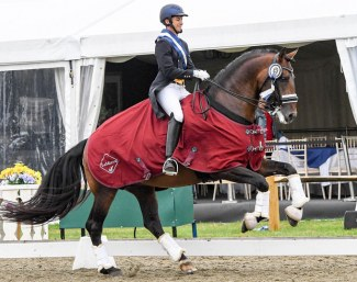 Joao Miguel Torrao and Equador MVL win the Grand Prix Special at the 2019 CDIO Hickstead