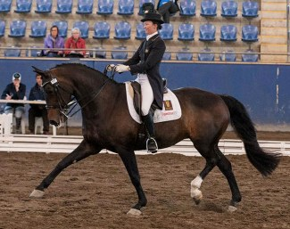 Megan Bryant and Donnabella at the 2012 CDI Sydney :: Photo Franz Venhaus