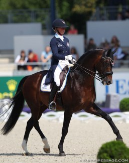 Rose Mathisen and Zuidenwind at the 2019 CDIO Aachen :: Photo © Astrid Appels