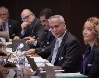 The FEI Board held its in-person meeting today in Moscow (RUS) :: Photo © LizGregg