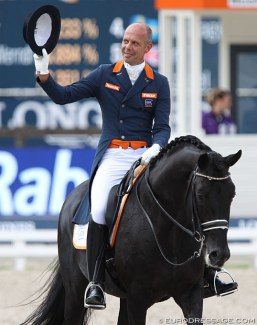 Hans Peter Minderhoud and Dream Boy at the 2019 European Dressage Championships :: Photo © Astrid Appels